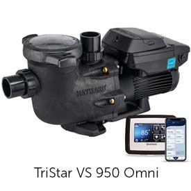 VS Omni® Variable-Speed Pumps with Smart Pool Control