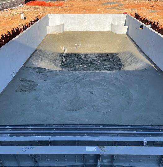 Concrete Pool Bottom